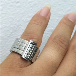 SWATCH limited edition passcode ring